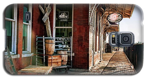 Santa Fe Depot Of Guthrie Galaxy S5 Case