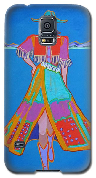 Santa Fe Girl  Galaxy S5 Case