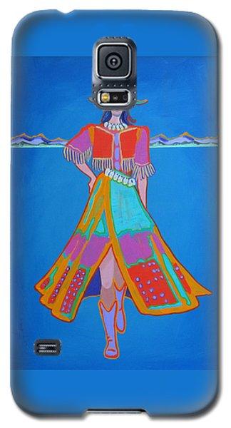 Santa Fe Girl  Galaxy S5 Case