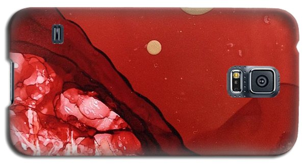 Santa Fe Moonrise Galaxy S5 Case by Suzanne Canner