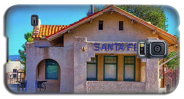 Galaxy S5 Case featuring the photograph Santa Fe Station by Stephen Anderson