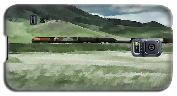 Santa Fe Train Galaxy S5 Case