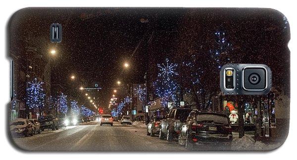 Santa Visits Bradford Galaxy S5 Case by Wade Aiken