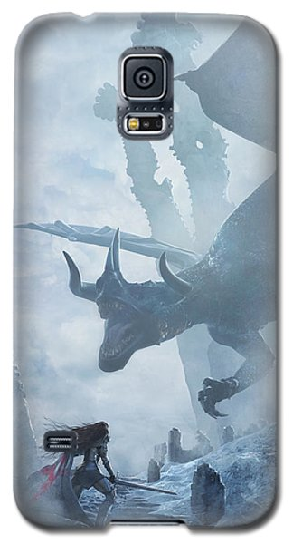 Santa Georgina Vs The Dragon Galaxy S5 Case