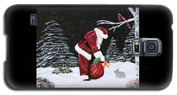 Santa Loves All Creatures Galaxy S5 Case