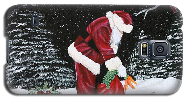 Santa Loves All Creatures Galaxy S5 Case