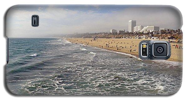 Santa Monica Beach Galaxy S5 Case