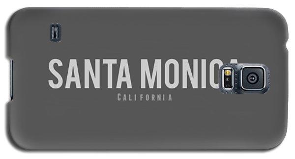 Galaxy S5 Case featuring the photograph Santa Monica California by Sean McDunn