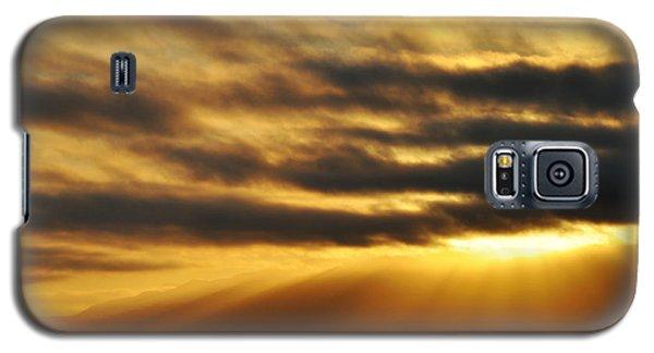 Galaxy S5 Case featuring the photograph Santa Monica Golden Hour by Kyle Hanson