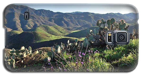 Santa Monica Mountains - Cactus Hillside View Galaxy S5 Case