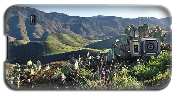 Santa Monica Mountains - Cactus Hillside View Galaxy S5 Case