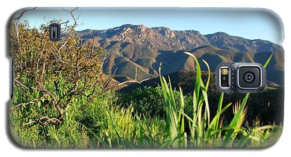 Santa Monica Mountains Green Landscape Galaxy S5 Case