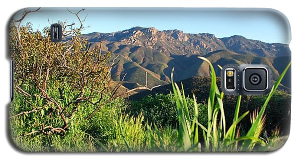 Santa Monica Mountains Green Landscape Galaxy S5 Case