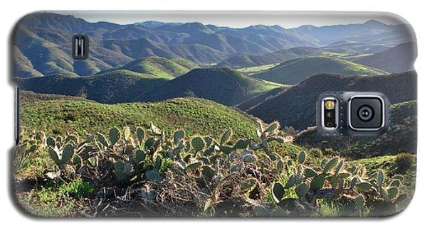 Santa Monica Mountains - Hills And Cactus Galaxy S5 Case