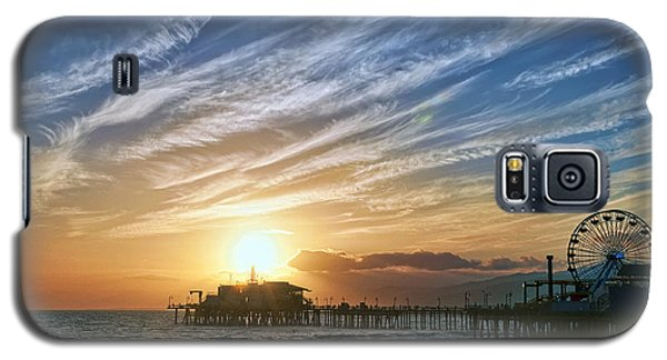 Santa Monica Pier Galaxy S5 Case