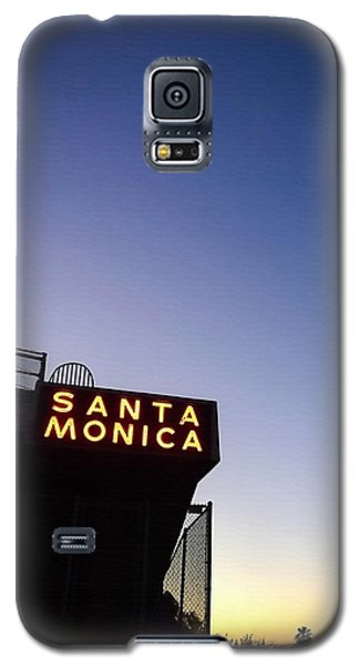 Santa Monica Sunrise Galaxy S5 Case by Art Block Collections