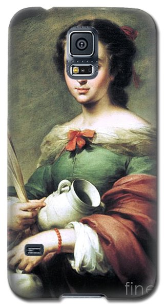 Galaxy S5 Case featuring the painting Santa Rufina by Pg Reproductions
