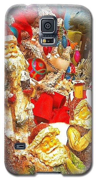 Santa Scene 1 Galaxy S5 Case