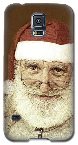 Santa's Day Off Galaxy S5 Case by Linda Phelps