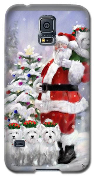 Elf Galaxy S5 Case - Santa's Helpers by Mary Sparrow
