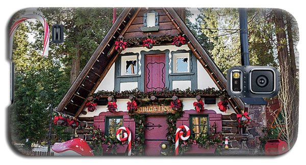 Galaxy S5 Case featuring the photograph Santa's House by Eddie Yerkish