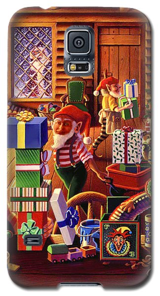 Santa's Workshop Galaxy S5 Case