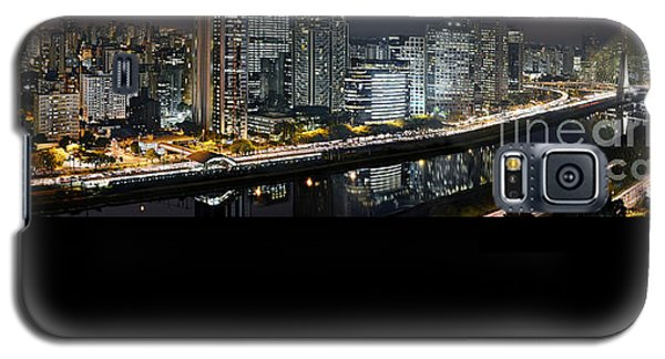 Sao Paulo Iconic Skyline - Cable-stayed Bridge  Galaxy S5 Case