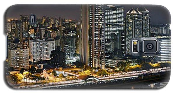 Sao Paulo Iconic Skyline - Cable-stayed Bridge  Galaxy S5 Case