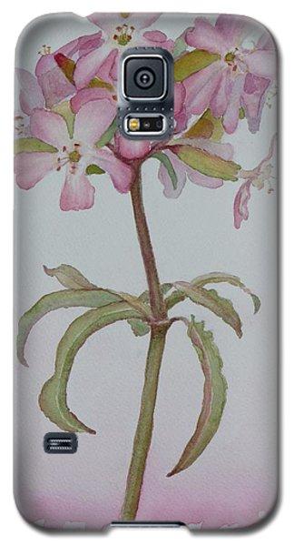 Saponaria Galaxy S5 Case