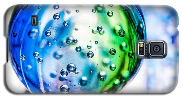 Sapphires And Emeralds II - Square Galaxy S5 Case