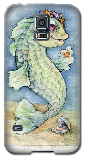 Galaxy S5 Case featuring the painting Sarafina Seabling by Lora Serra