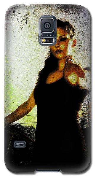 Sarah 1 Galaxy S5 Case by Mark Baranowski