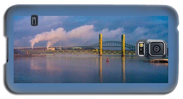 Sarah Long Bridge At Dawn Galaxy S5 Case