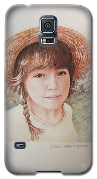 Galaxy S5 Case featuring the painting Sarah by Patricia Schneider Mitchell