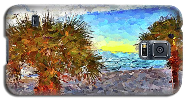Sarasota Beach Florida Galaxy S5 Case