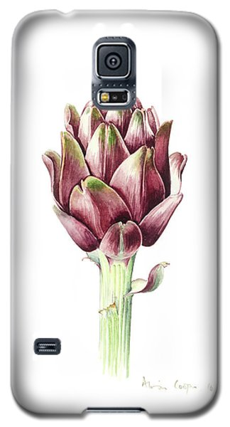 Sardinian Artichoke Galaxy S5 Case by Alison Cooper