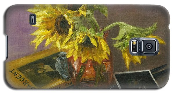 Sargent And Sunflowers Galaxy S5 Case by Lisa  Spencer