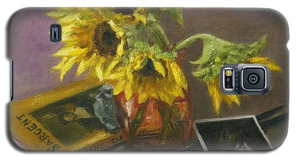 Sargent And Sunflowers Galaxy S5 Case