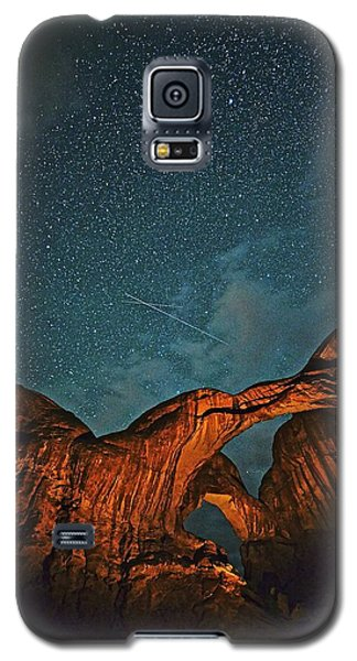 Satellites Crossing In The Night Galaxy S5 Case