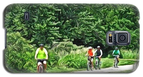 Saturday Bike Ride Galaxy S5 Case