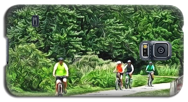 Saturday Bike Ride Galaxy S5 Case