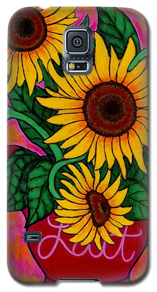 Saturday Morning Sunflowers Galaxy S5 Case