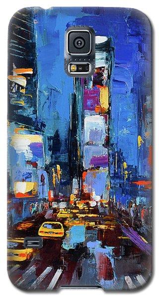 Saturday Night In Times Square Galaxy S5 Case