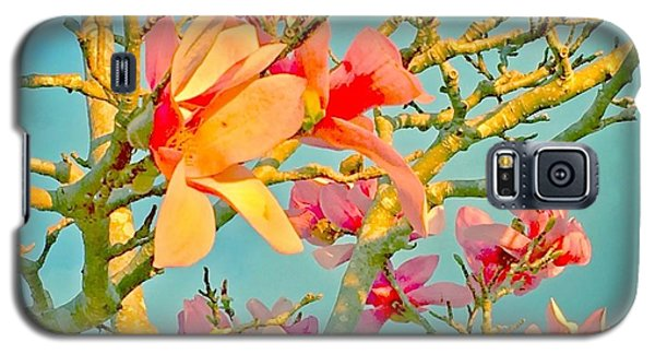 Galaxy S5 Case featuring the photograph Saucer Magnolia by Angela Annas