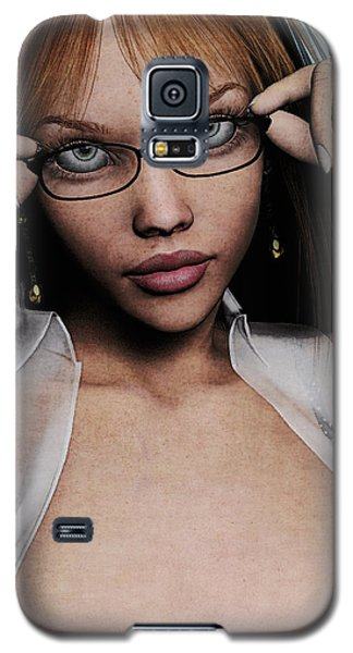 Saucy Secretary Galaxy S5 Case