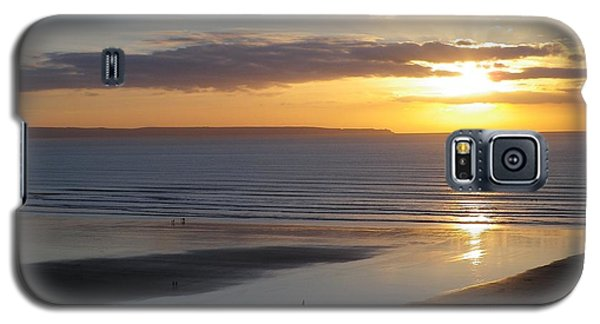 Saunton Sands Sunset Galaxy S5 Case