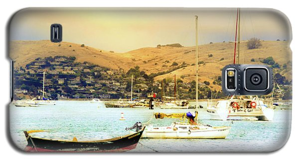 Galaxy S5 Case featuring the photograph Sausalito Sailboats by Laura DAddona