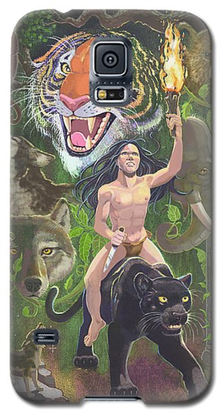 Savage Galaxy S5 Case by J L Meadows