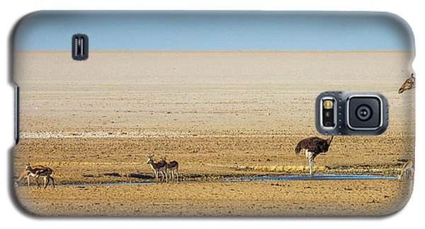 Savanna Life Galaxy S5 Case by Inge Johnsson