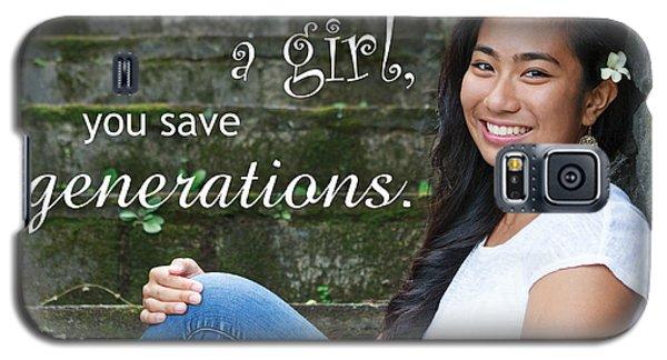 Save A Girl Galaxy S5 Case